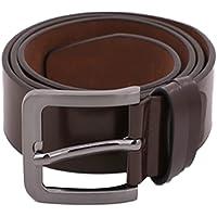 GREATOOL Cinturon Hombre Cuero Cinturones Piel Jeans hombre Cinturon hombre 3.8cm ancho 125cm Perfecto Regalo Tamaño…