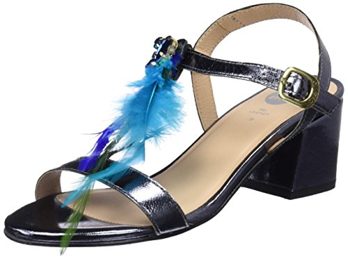 Blue 45294 Women's Sandals Gioseppo Grey Toe Open nYARSOAFqw