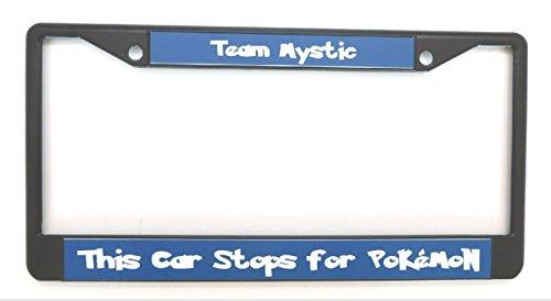 Pokemon Go Team License Plate Frame Team Blue Mystic