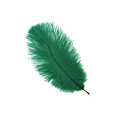 - Zucker Feather (TM) - Ostrich Feathers-Drabs Selected - Emerald