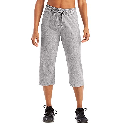 Jersey Authentic (Champion Authentic Women's Jersey Capri_Oxford Grey_Medium)
