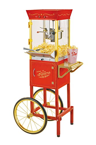 Nostalgia CCP510 Vintage 6-Ounce Commercial Popcorn Cart - 53 Inches Tall - Ccp Part