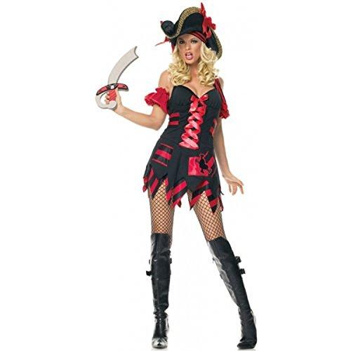 [Treasure Hunt Pirate Adult Costume - X-Small] (Leg Avenue Treasure Hunt Pirate Costume)