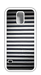 Design Phone Protective Cover case for samsung galaxy s5 for men - Black vertical stripes