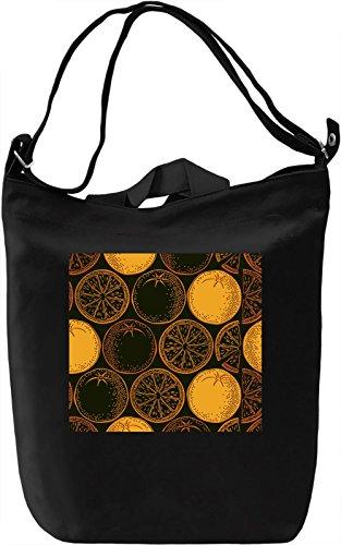 Fruit Pattern Borsa Giornaliera Canvas Canvas Day Bag| 100% Premium Cotton Canvas| DTG Printing|