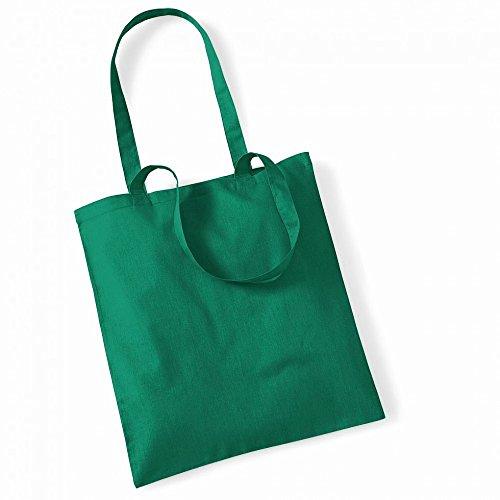 """Westford Mill- Promoción bolsa básica """"Bolsa para la vida""""- capacidad 10 litros multicolor - Vert tendre"""