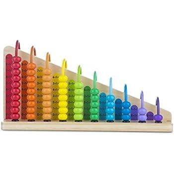 Amazon.com: Melissa & Doug Add & Subtract Abacus ...