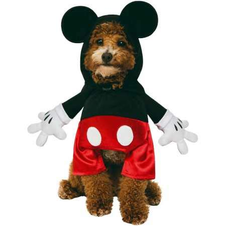 Rubie's Mickey Mouse Step in Pet Costume (Small) ()