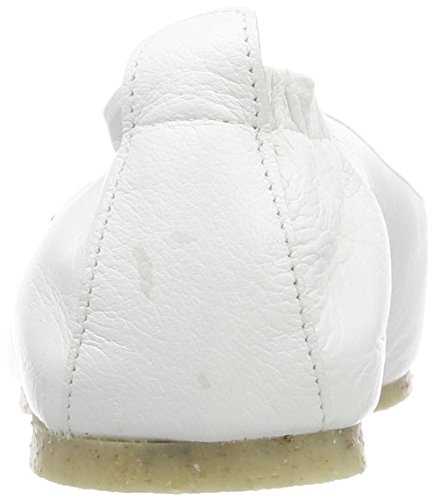 Jonnys Damen Britta Peeptoe Ballerinas Weiß (Blanco)