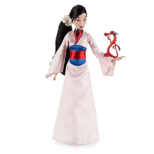 Disney Mulan Classic Doll with Mushu Figure - 12 (Mushu Costume Mulan)