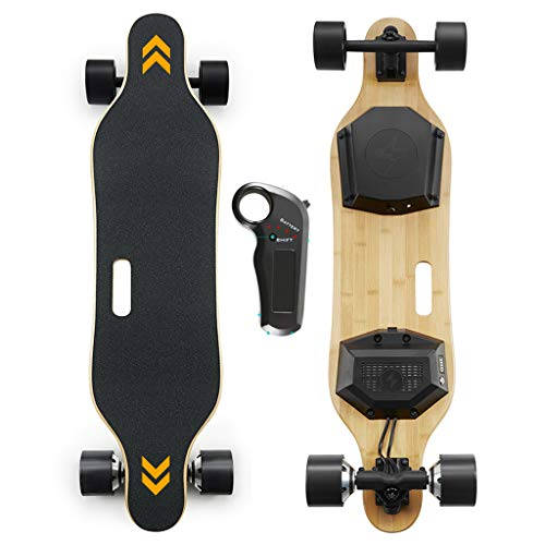 Cheapest Prices! Voxpree Electric Skateboard with 350W Dual Motors, 22 MPH Max Speed, 22 Miles Range...