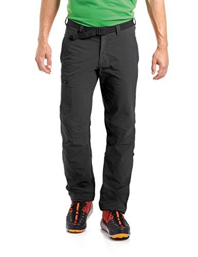 maier sports Herren Wanderhose Roll-up Nil, black, 54, 132001