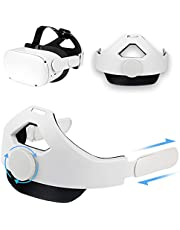 Head Strap Compatible with Oculus Quest 2, Replacement for Elite Strap, Adjustable Comfortable Strap with Head Cushion, Reduce Pressure for Quest 2 Headset