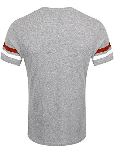 Super Mario Herren T-Shirt Nintendo Mario Face grau