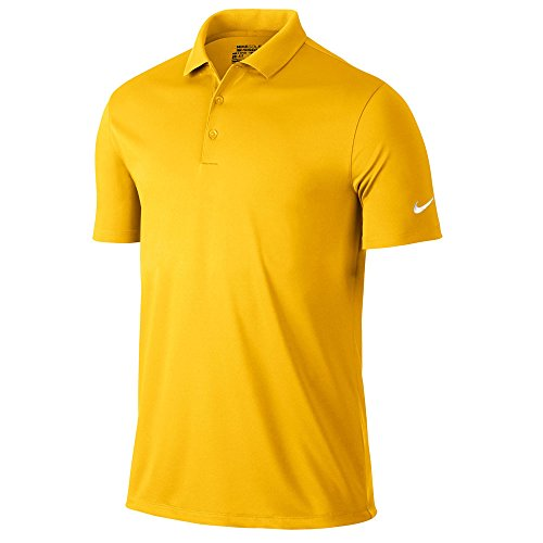 Nike Golf Victory Solid Polo (Amarillo) (X-Large)