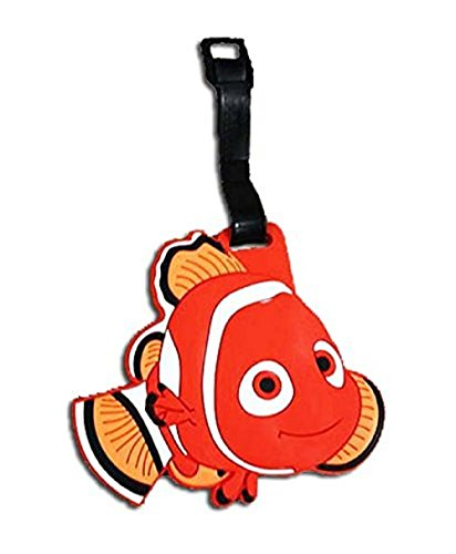 Finding Nemo Designed Luggage School Bag Backpack Travel Name Tag