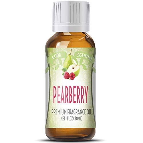 Pearberry Scented Oil by Good Essential (Huge 1oz Bottle - Premium Grade Fragrance Oil) - Perfect for Aromatherapy, Soaps, Candles, Slime, Lotions, and More!