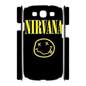 T-TGL(RQ) Samsung Galaxy S3 I9300 3D DIY Phone Case Nirvana with Hard Shell Protection