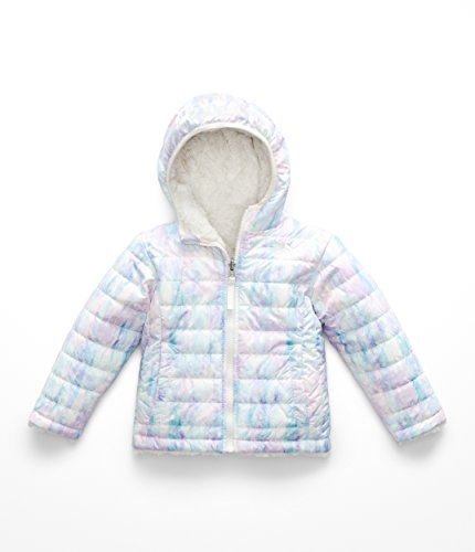 - The North Face Todd Girl's Reversible Mossbud Swirl Jacket - Purdy Pink Snow Dust Print - 3T