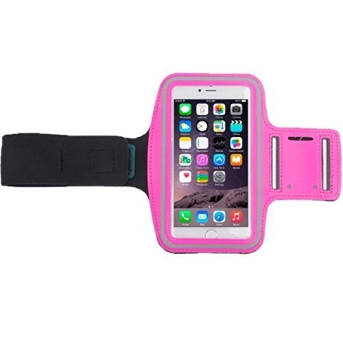 König-Shop Tasche Armband Sportarmband mit Kopfhörerloch und Schlüsselfach verschiedene Modelle / verschiedene Farben, Farbe:Pink, Hersteller wählen:Huawei, Modell wählen:Honor 3C