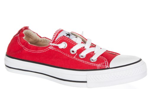 Converse Chuck Taylor All Star Shoreline Red Lace-Up Sneaker - 7 B(M) US Converse Red Shoes