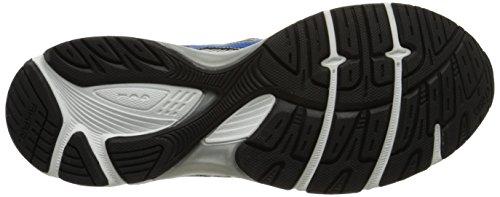 Asics - - Männer Lauf Gel-Gleichung 7 (4E) Schuhe In Blitz / Onyx / Red Lightning / Electric Blue / Black