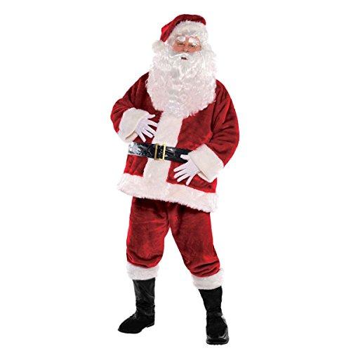 Amscan 843672 Regal Santa Suit - X-Large (Up To 50