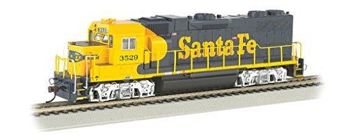 Bachmann Industries EMD GP38 2 DCC Santa Fe #3529 Sound Value Equipped Locomotive (HO - Locomotive Small