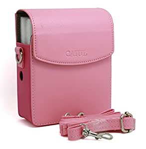 CAIUL PU Leather Case for Fujifilm Instax Share Smartphone Printer Sp-1, Pink