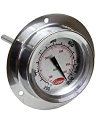 Cooper Atkins 2225 20 Stainless Steel Bi Metals Industrial Flange Mount Thermometer 200 To 1000 Degrees F Temperature Range