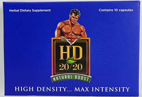 HD 2020 Newly REFORMULATED 2018 Powerful Natural Male Booster (10) Capsules.by The Makers of Schwinnng