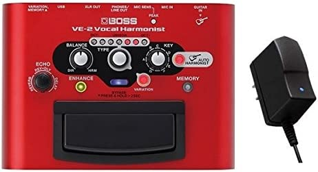 BOSS VE-2 Vocal Harmonist + 純正ACアダプター「PSA-100S2」セット