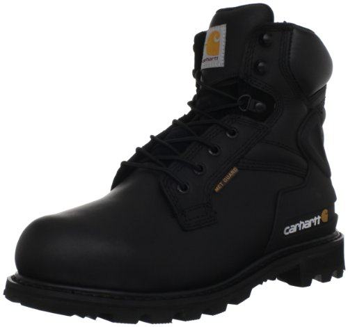 Metatarsal Boots Guard Safety (Carhartt Men's CMW6610 6 Met Work Boot,Black Oil Tanned,11 W US)