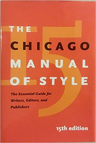 amazon the chicago manual of style university of chicago press