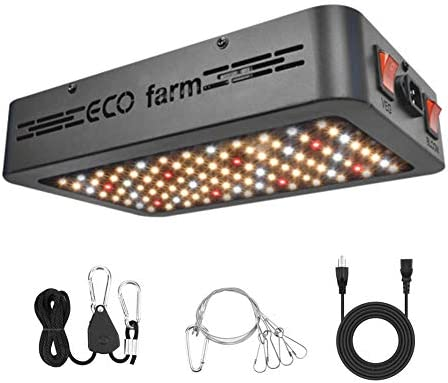 LED Grow Light, ECO farm 450W Full Spectrum Canna-Beginner Grow Light for Indoor Plants, Grow Lamp with Veg and Bloom