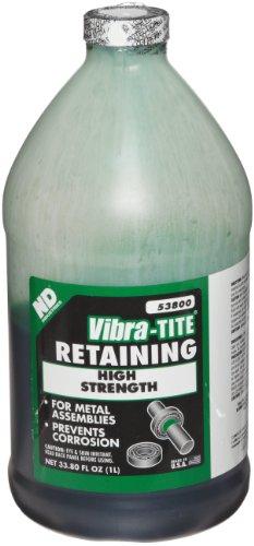 Vibra-TITE 538 High Strength Anaerobic Retaining Compound, 1 liter Jug, Green by Vibra-TITE