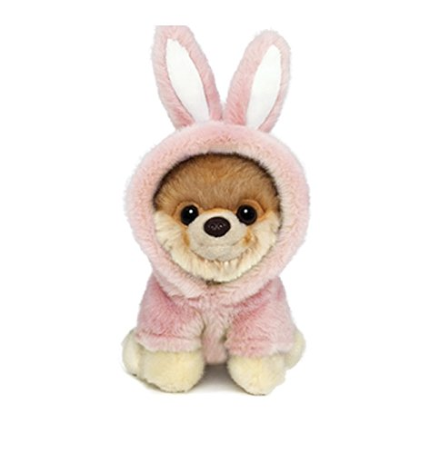 GUND Itty Bitty Boo #043 Easter Bunny Stuffed Animal Dog Plush, 5