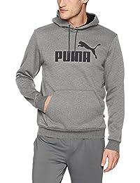 PUMA Mens Standard Ess Hoody FL Big Logo