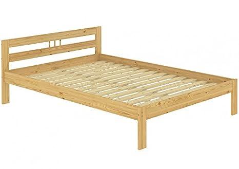 Letto futon matrimoniale classico in pino eco 140x200 laccato con