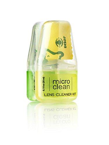 Micro Clean® Pocket Eyeglasses Cleaner Spray kit + Microfiber Cloth 0.7 Fl. Oz. Apple & Lemon Scented (Pack of 2) by Micro Clean (Image #1)