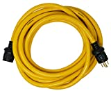 Yellow Jacket 1493 10/4 Heavy-Duty STW 30-Amp/250-Volt Generator Power Cord, 25-Feet