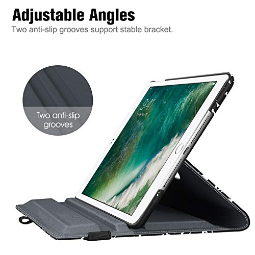Fintie Case for iPad 9.7 2018 2017 / iPad Air 2 / iPad Air - 360 Degree Rotating Stand Protective Cover with Auto Sleep Wake for iPad 9.7 inch (6th Gen, 5th Gen) / iPad Air, Composition Book