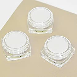 Andaz Press DIY Blank Party Favors for Do It Yourself Baby Bridal Shower Birthday Wedding Thank You Gifts, Lip Balm Butter Mini Round Containers, 12-Pack