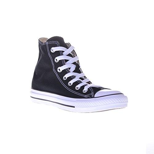 toile unisexe Converse Blanc de Chaussures Chuck Noir Taylor All Star qqYg0O