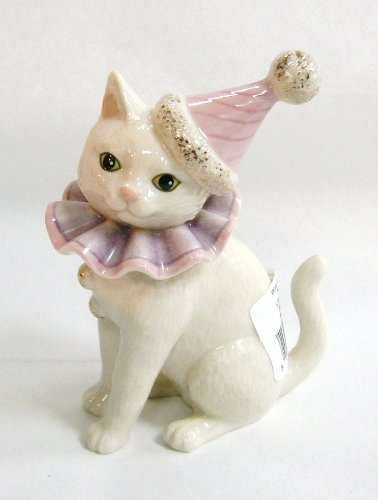 (Lenox Halloween WISE CRACKER KITTY CAT IN COSTUME )