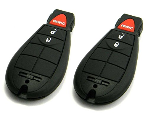 Pair of OEM Electronic Chrysler Dodge Jeep Keyless Entry Remote Fobs FOBIK (FCC ID: M3N5WY783X)