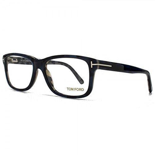 Tom Ford FT-5163 Men's Havana Brown Crystal Square - Toms Uk Sunglasses