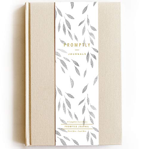 Wrapped Journal (Promptly Journals - Love Story Signature Collection (Sand), Relationship & Marriage Journal, Hundreds of Meaningful Prompts, Covers from When The Couple Met Until Their 70th Wedding Anniversary)