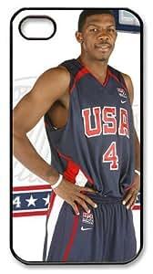 icasepersonalized Personalized Protective Case for iPhone 4/4S - Joe Johnson, NBA Atlanta Hawks