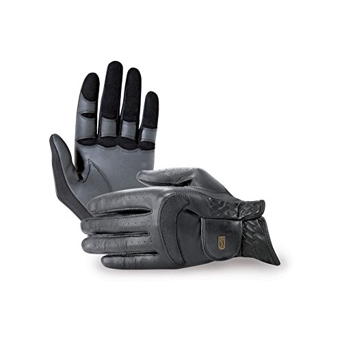 Tredstep Dressage Pro Glove 6 Black by Tredstep